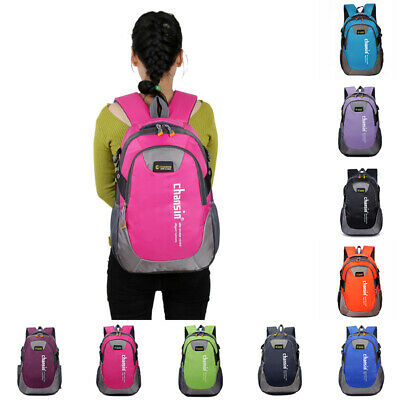 Laptop Backpack Bag Hiking Camping Daypack Rucksack Multi-compartment Unisex