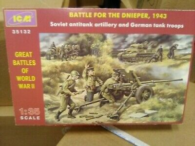 Icm Model Kit #35132 Battle For Dnieper 1943 New In Box Sealed