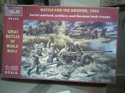 Icm Battle For The Dnieper 1943 Model Kit Model#35132
