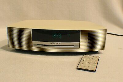 Bose Wave Music System AM/FM Radio Alarm Clock CD Player W/Remote