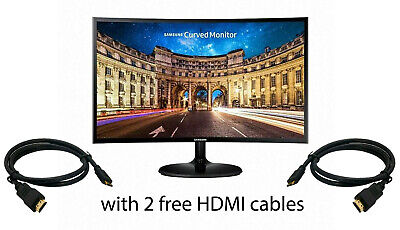 Samsung Curved 27 inch Computer Monitor LC27F390 Gaming HD 27'' Refurbished
