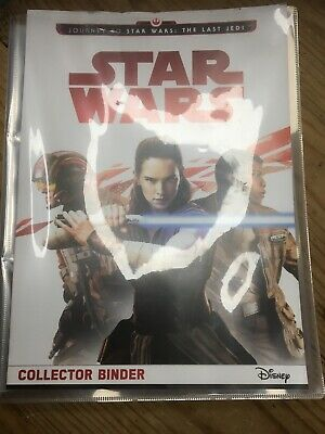 Star Wars The Last Jedi Collector Cards And Binder With Over 200 Cards