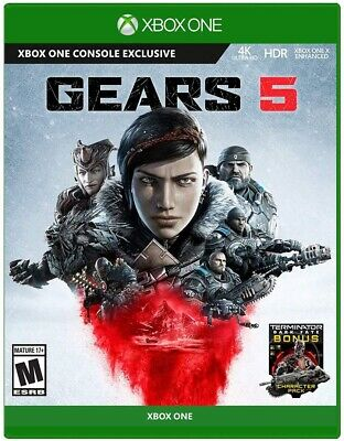 Gears 5 Standard Edition Xbox One*READ DESCRIPTION*🔥Free Shipping 🔥 DISC ONLY