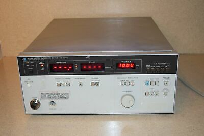HEWLETT PACKARD HP Agilent 4193A VECTOR IMPEDANCE METER 0.4-110MHz