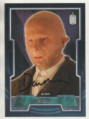 """Doctor Who Topps Trading Card No.71 Auto by David Walliams """"Gibbis"""""""
