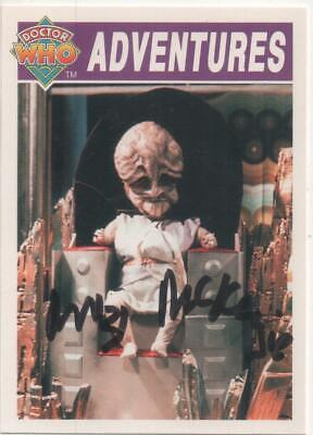 Dr Who Colony in Space Card No.11 Auto by Mitzi McKenzie (Mrs Martin)