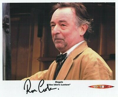"""Doctor Who Auto Photo Print Ron Cook """"Mr. Magpie"""""""