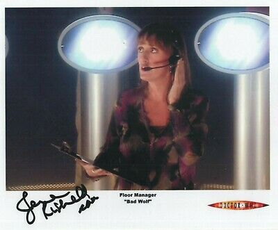 """Doctor Who Auto Photo Print Jenna Russell """"Floor Manager"""""""