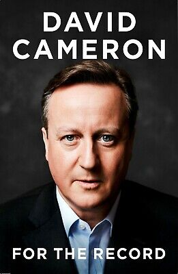 For the Record David Cameron *Brand New *Hardcover *Free&Fast Delivery