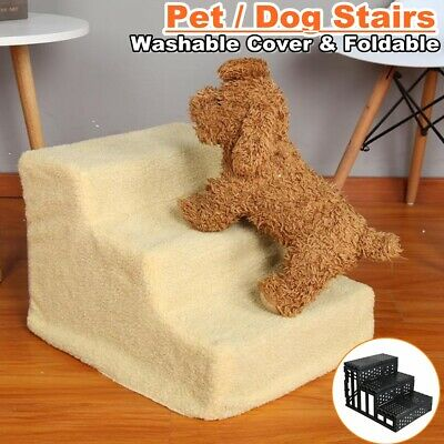 Pet Gear Easy Step Dog Cat Small Animal Stairs Climb Ladder for Couch or Bed US