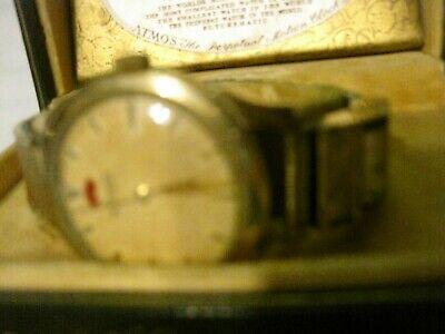 1950s Rare Le Coultre ATMOS Powermatic Private Label Automatic Mens Watch & Case