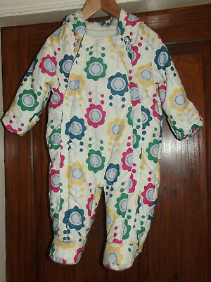 Girls Mothercare Snowsuit Age 6 -  9 Months