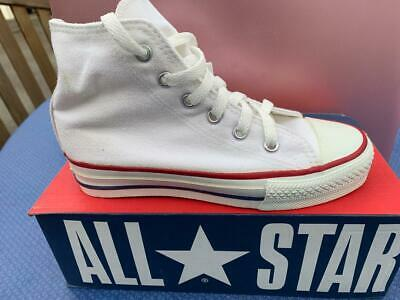 CONVERSE OPTICAL WHITE Hi TOPS ORIGINAL Made in the USA  NEW CHILDS  SIZE 13 1/2
