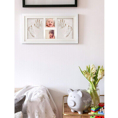 Baby Desk Decoration Photo Frame Footprint Memorial Set Memory Book Hand Both