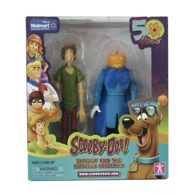 50 Years Of Scooby Doo Shaggy And The Headless Horseman Figure Walmart Exclusive
