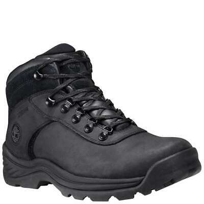 NEW** TIMBERLAND BLACK Leather Hiking Boots 37092 3022