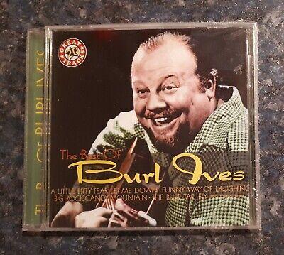 Burl Ives, The Best of ... 2001 new sealed cd ... 1 cent compact discs ...
