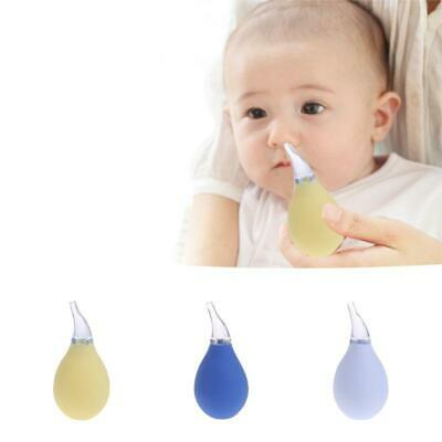 Newborn Baby Nasal Aspirator Suction Soft Tip Mucus Vacuum Runny Nose Cleaner