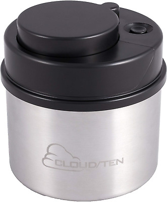 """CLOUD//TEN Smell Proof Stash Box for Glass Tobacco and Heady Products Up to 12/"""""""