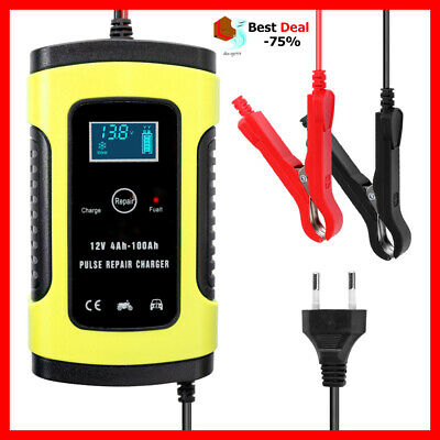 Charger Car Battery Starter Jump Power Booster 12v Portable Bank Smart Auto New