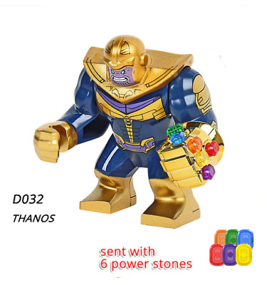 THANOS Lego mini figure Avengers 76131 Endgame Marvel Super Heroes