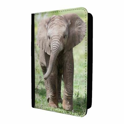 Passport Holder Case Cover Cute Baby Elephant - S2036