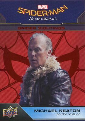 Spiderman Homecoming Red Foil [199] Base Card #100 Vulture
