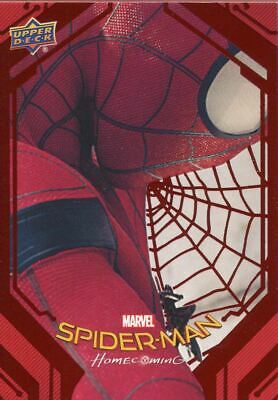 Spiderman Homecoming Red Foil [199] Base Card #51 Insignia Drone