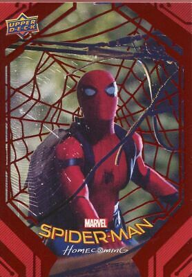 Spiderman Homecoming Red Foil [199] Base Card #43 Oops!