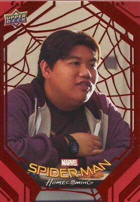Spiderman Homecoming Red Foil [199] Base Card #7 Girl Watching