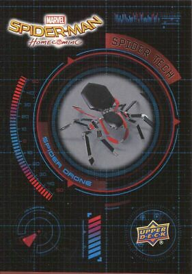 Spiderman Homecoming Spider Tech Chase Card ST5 Spider Drone
