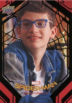 Spiderman Homecoming Black Foil [49] Base Card #88 Jason Eavesdrops
