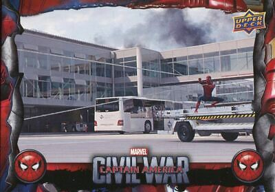 Spiderman Homecoming Civil War Chase Card CW4 Reeling Him In