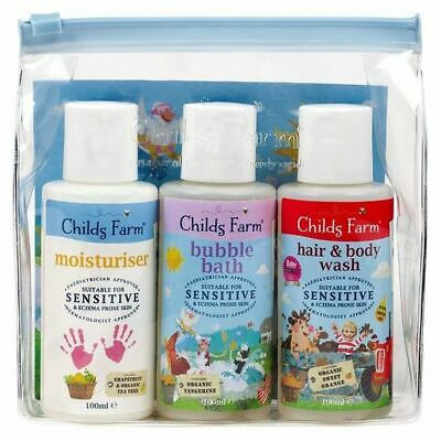 Childs Farm Top-To-Toesie Cleaning Kit 3 x 100ml
