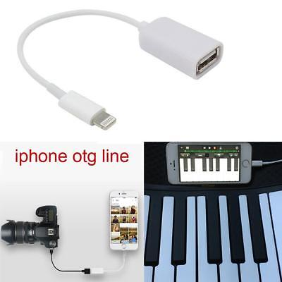 Lightning to USB Female Camera Keyboard Adapter Cable For iPhone iPad Apple US