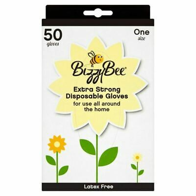 BizzyBee 50 Extra Strong Disposable Gloves