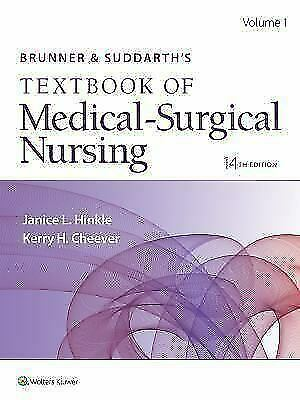 ✔️ TEXTBOOK ✔️ Brunner & Suddarth's Medical-Surgical Nursing 14th Edition ✔️