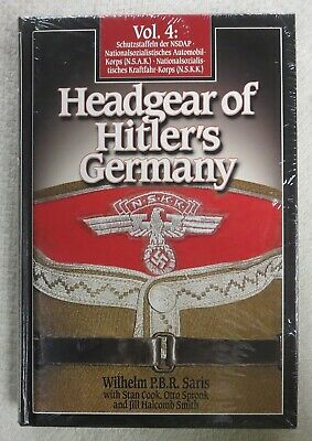 BENDER Book HEADGEAR of HITLERS GERMANY Vol.4 WW2 Collector Reference NEW UNUSED