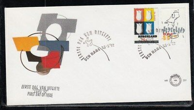 NETHERLANDS Expo '92 Sevilla (Tulips) FIRST DAY COVER