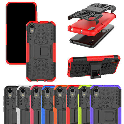 For Huawei Honor 8S Heavy Duty Tough Protective Hybrid Kickstand Hard Back Cover