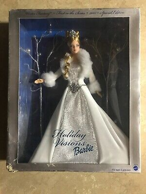 2003 Holiday Visions Barbie Doll ~ Winter Fantasy ~ Special Edition