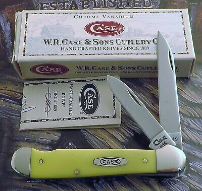 Case Carbon Blades EZ Open Copperhead Knife 1998 Issue Long Discontinued NR