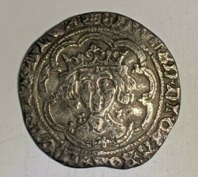 YORK. Edward IV Exquisite Groat. War of the Roses. England Silver Coin