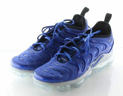 H5 NEW Nike Air VaporMax Plus Blue Textile Running Sneaker Men's Sz 10 M