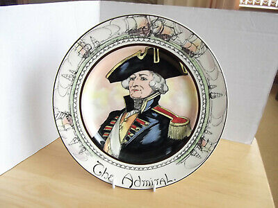 Vintage Royal Doulton Series Ware The Admiral Collectors Plate D6278