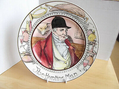 Vintage Royal Doulton Series Ware The Hunting Man Collectors Plate D6282