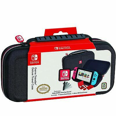 Nintendo Switch Carrying Case - Protective Deluxe Travel Case - Black Ballist...