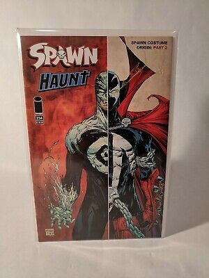 SPAWN #234 (August 2013, Image) Origin of Spawn's costume