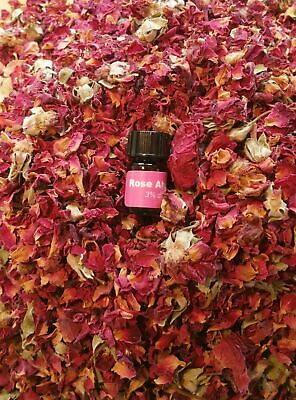 bMAKER Dried Rose Buds& Petals Red 1 Lb Edible Flowers| Best for Tea Baking M...