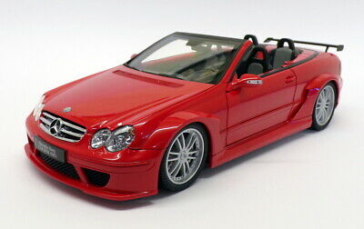 Kyosho 1/18 scale 08462R - Mercedes Benz CLK DTM AMG Cabrio - Red